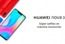 Huawei Nova 3, el smartphone de 4 cámaras