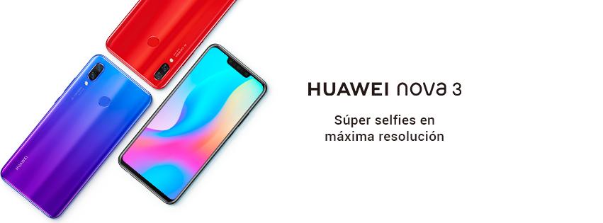 huawei nova 3 - Huawei Nova 3, el smartphone de 4 cámaras