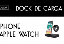 Valet™ El  Dock de carga para Apple Watch + iPhone