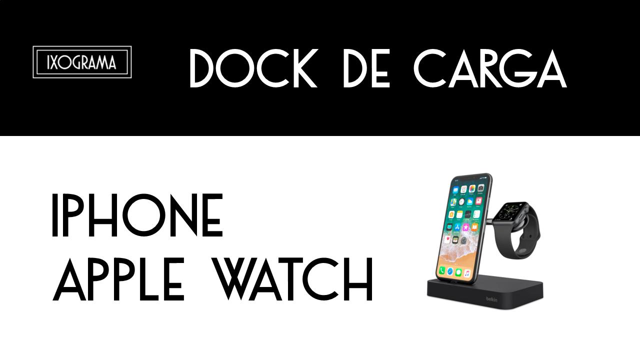 dock ixograma - Valet™ El Dock de carga para Apple Watch + iPhone