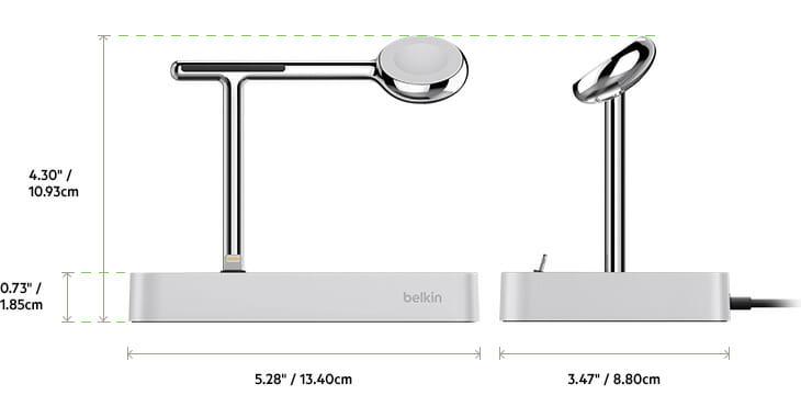 valet4 - Valet™ El  Dock de carga para Apple Watch + iPhone