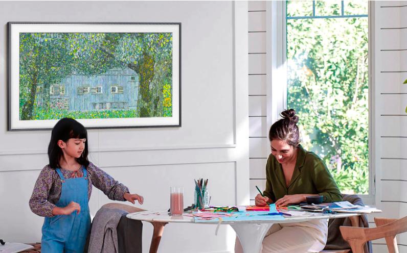 Samsung The Frame Arte - Resalta Samsung funcionalidades del smart TV 4K
