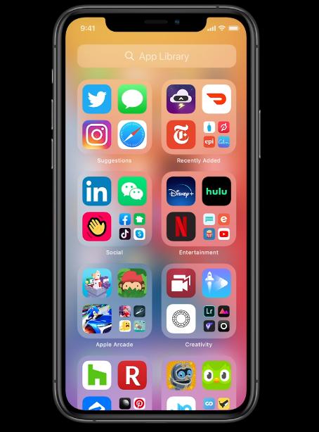 app library - Apple presenta iOS14 e innovaciones en sistemas operativos de móviles