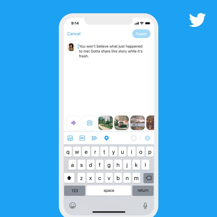 tweet - Twitter anuncia funcionalidad de tweets de voz