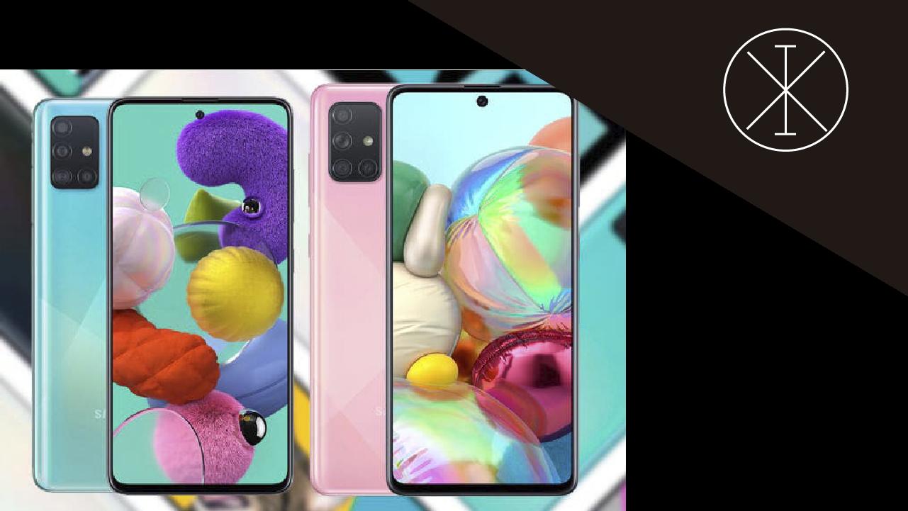 Galaxy A51 y A71