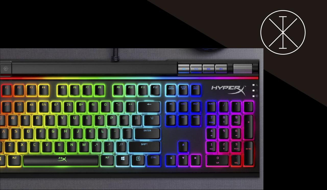 Teclado para videojuegos HyperX Alloy EliteTM 2