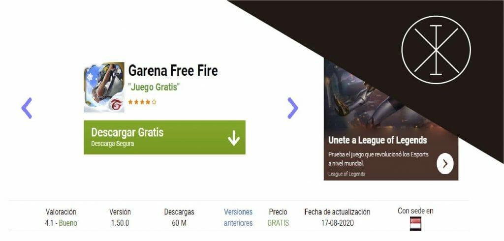 freegarenaapk 1024x490 - Free Fire apk 2020