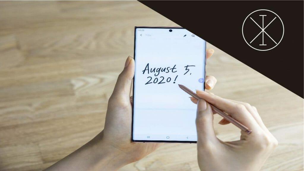 pen2 1024x576 - Smartphones Samsung: funciones para aumentar la productividad
