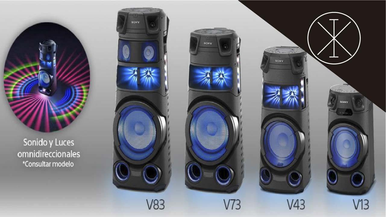 Sistemas de audio Serie V