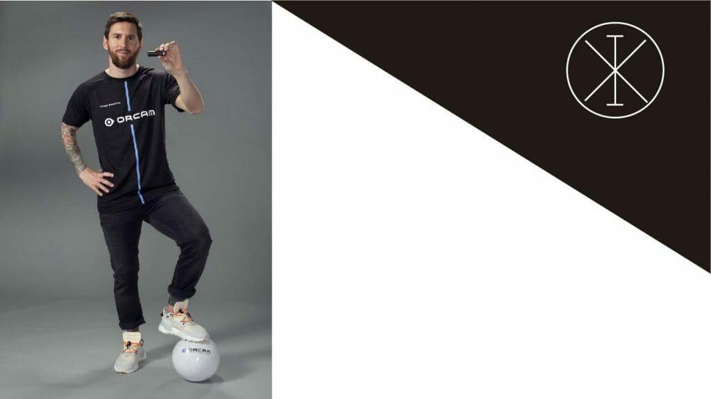 Messi 1024x576 - Lionel Messi se convierte en embajador de OrCam Technologies