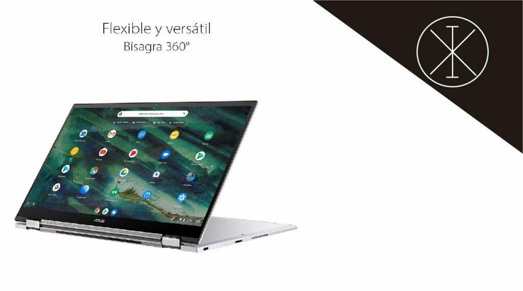 Chromebook Flip C436 1024x570 - Chromebook Flip C436 de ASUS: precio y características