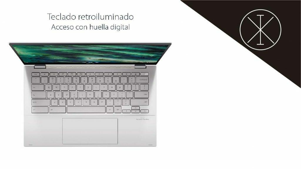 Chromebook Flip C436 2 1024x576 - Chromebook Flip C436 de ASUS: precio y características