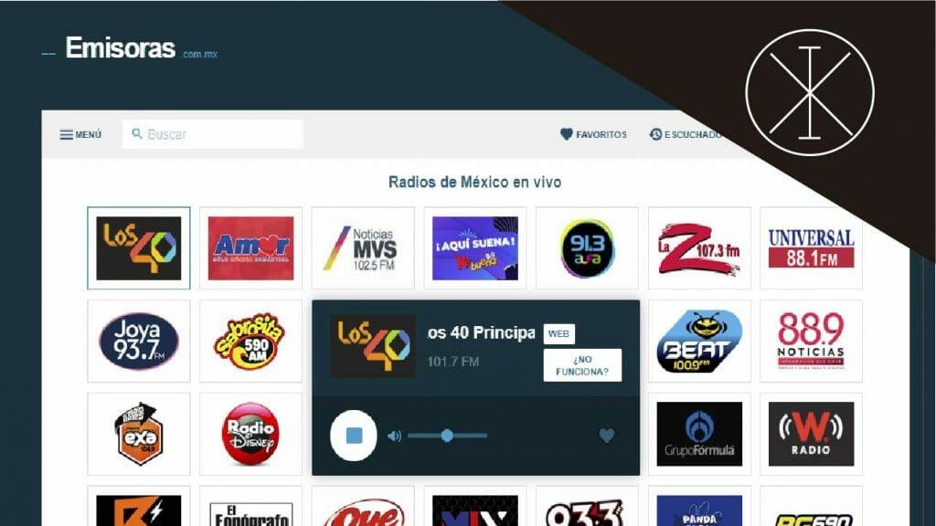 amisoras 1024x576 - Música gratis online: plataformas en México