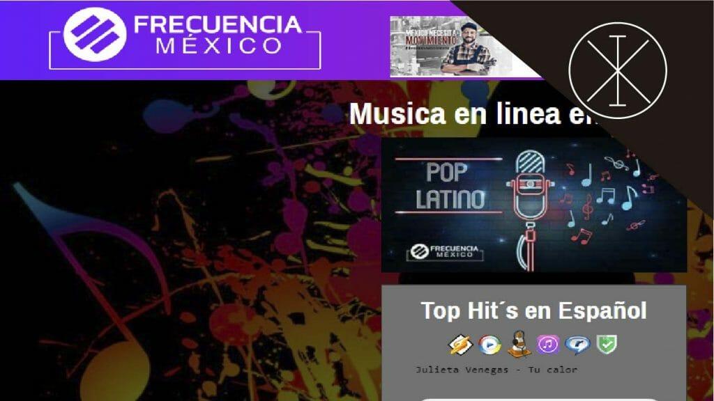 frecuencia mex 1024x576 - Música online: las mejores plataformas en Latinoamérica
