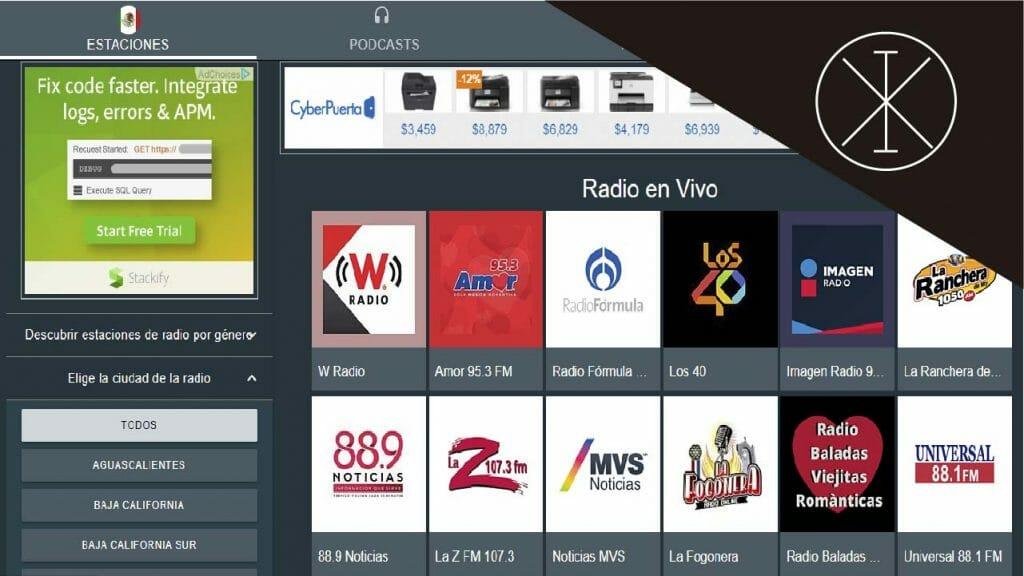 radio en vivo 1024x576 - Música gratis online: plataformas en México