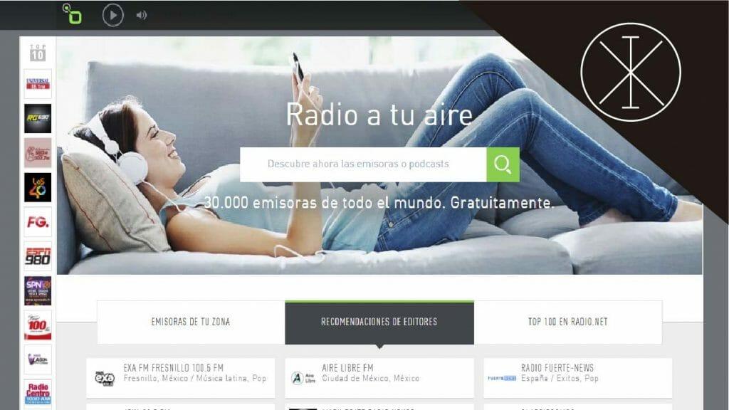 radionet 1024x576 - Música online: las mejores plataformas en Latinoamérica
