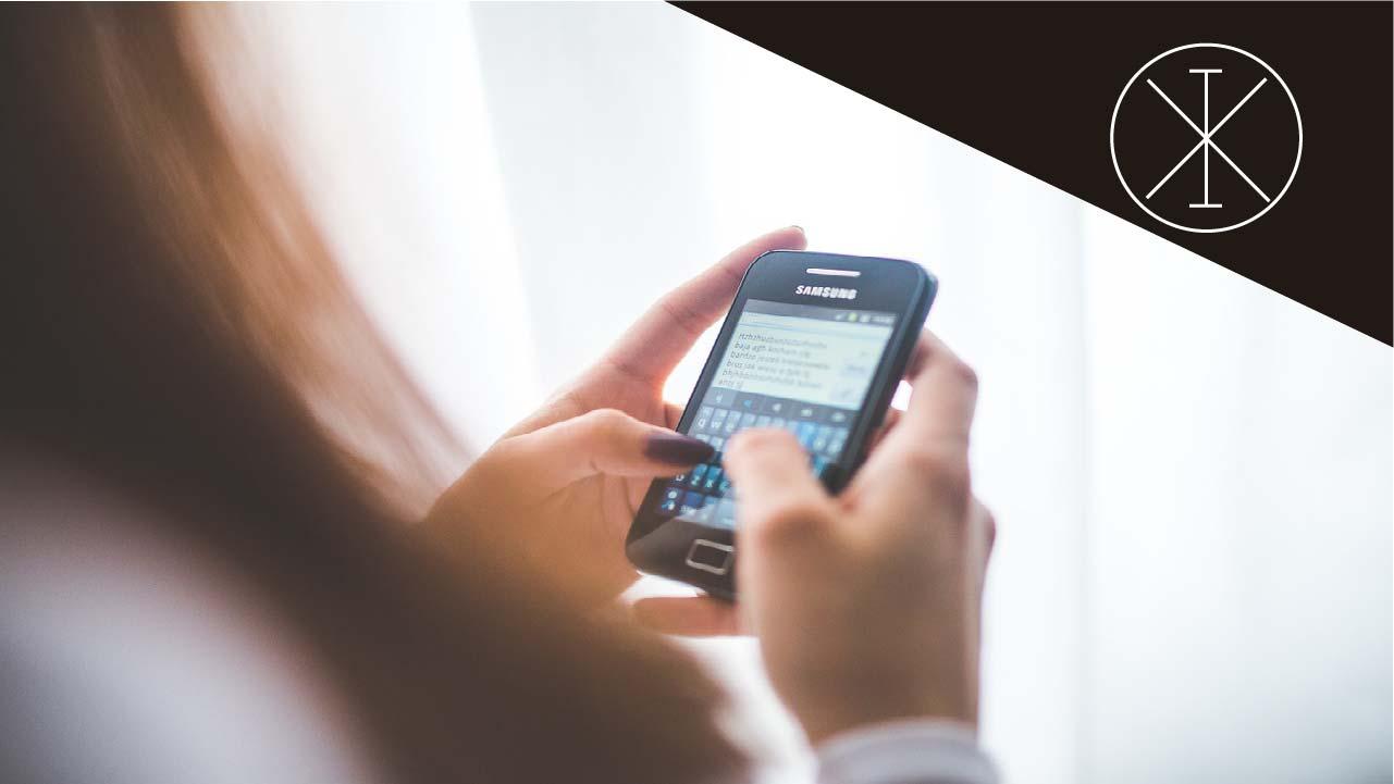Usuario de aplicaciones de mensajería