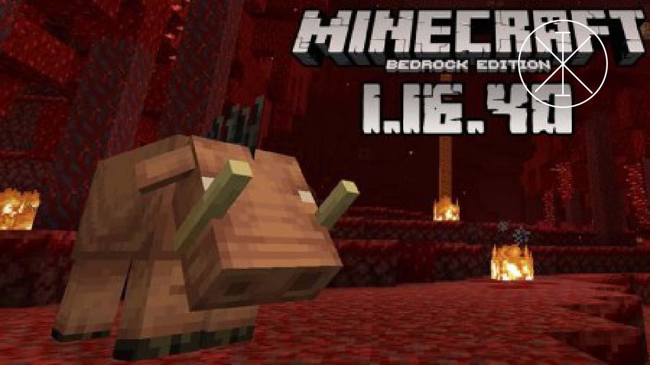 Minecraft 1.16.40 apk: cómo instalarlo
