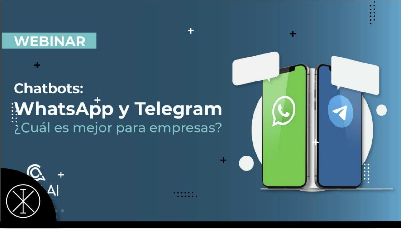 Chatbots: Whatsapp vs Telegram