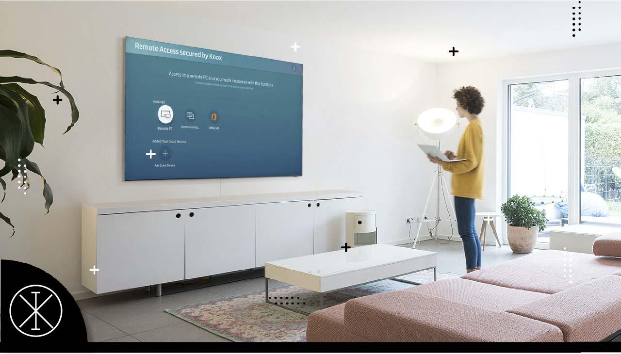 Smart TV Samsung: funciones para aumentar la productividad