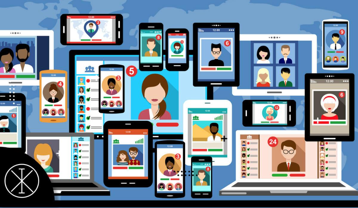 Tres redes sociales favoritas de los adolescentes
