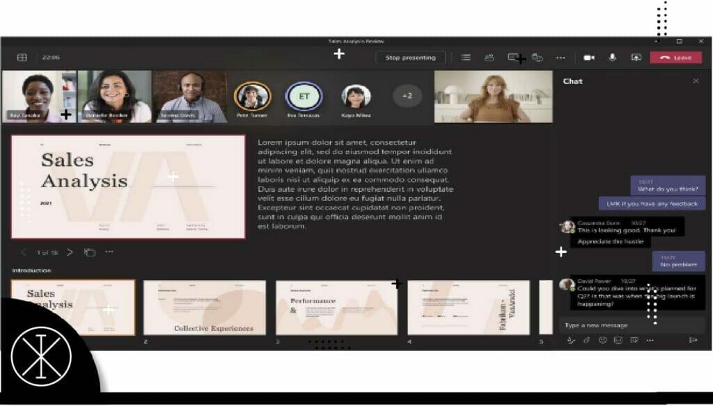 teams 1024x584 - Microsoft presenta soluciones y actualizaciones durante Microsoft Ignite 2021