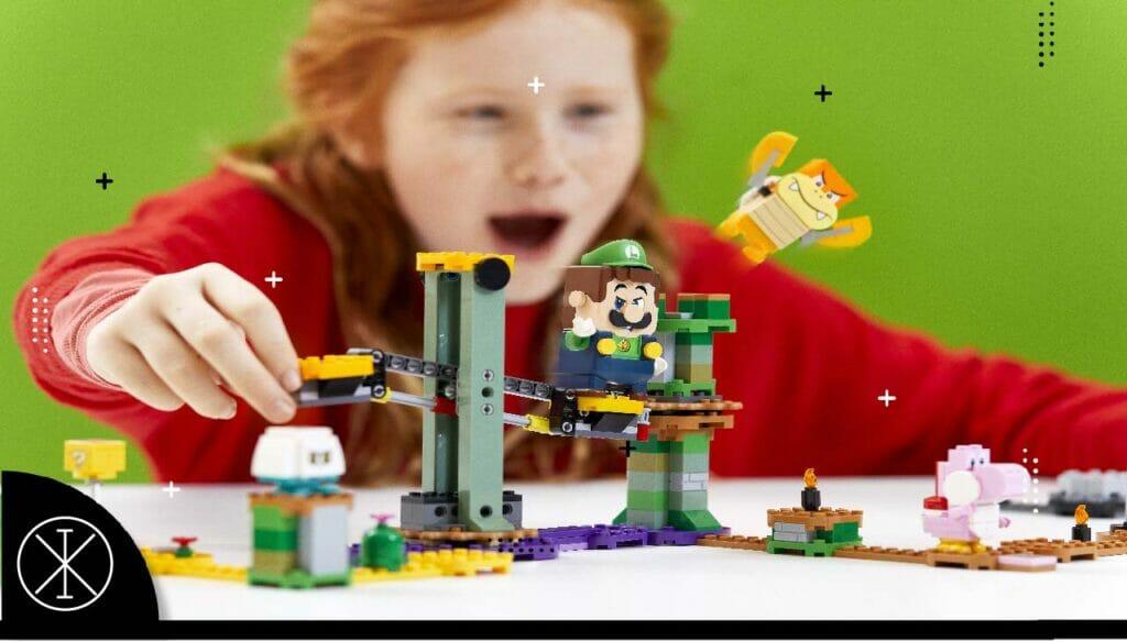 Luigi25 1024x584 - Nintendo y Lego presentan un nuevo set de Luigi