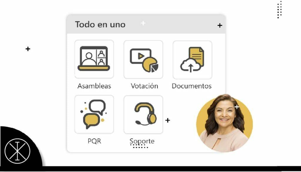 33eeedd 1024x586 - Propiedata: la app para las asambleas virtuales de apartamentos llega a Colombia