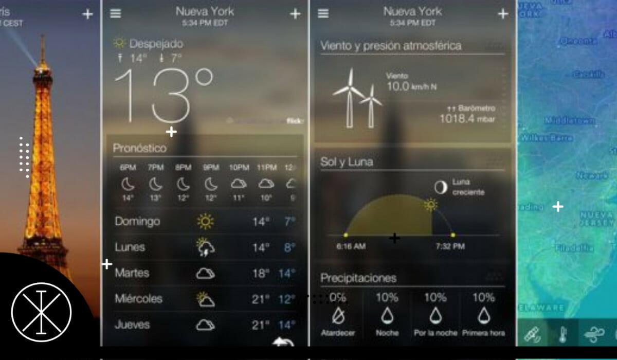 Aplicaciones para saber del clima 2021