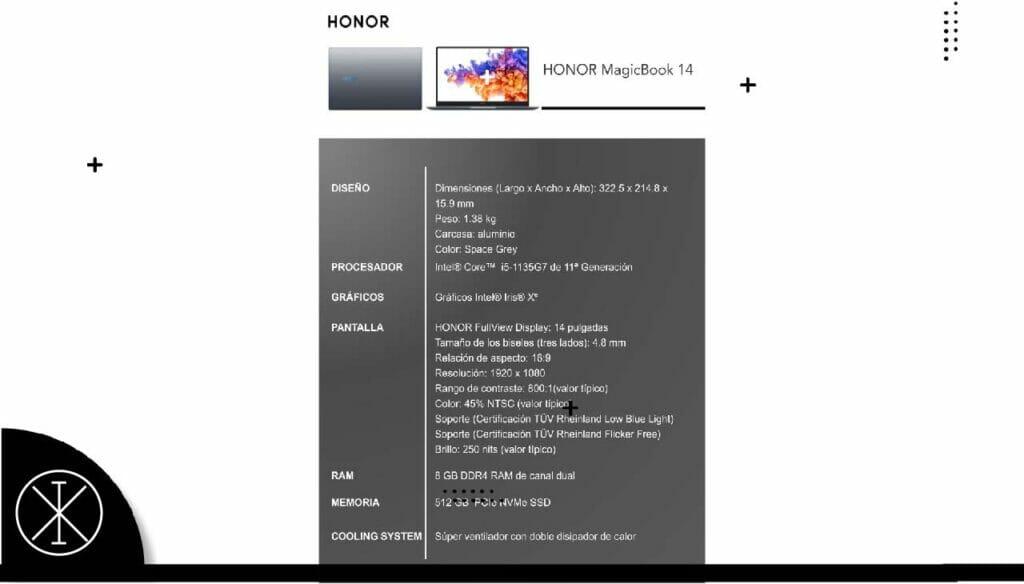 dde2334 1024x584 - HONOR MagicBook 14: la ultrabook de 25 mil pesos MXN