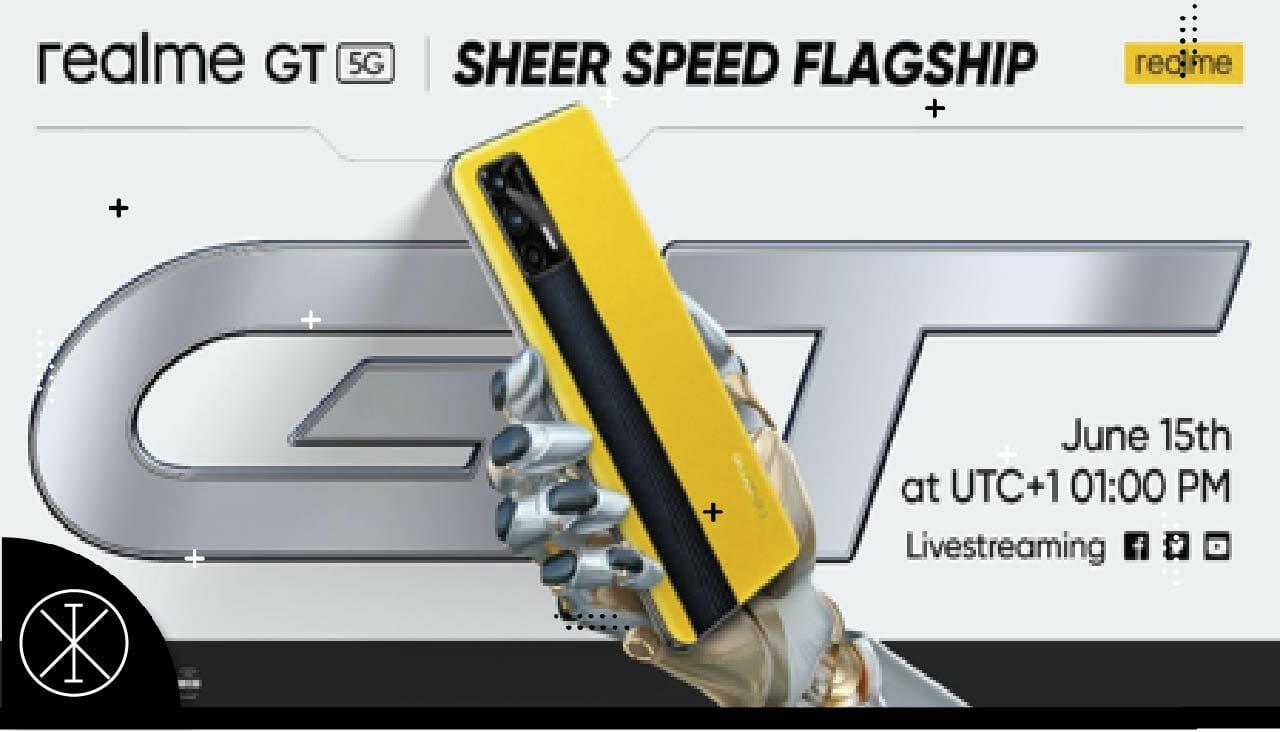 realme anuncia la fecha del lanzamiento global del realme GT 5G