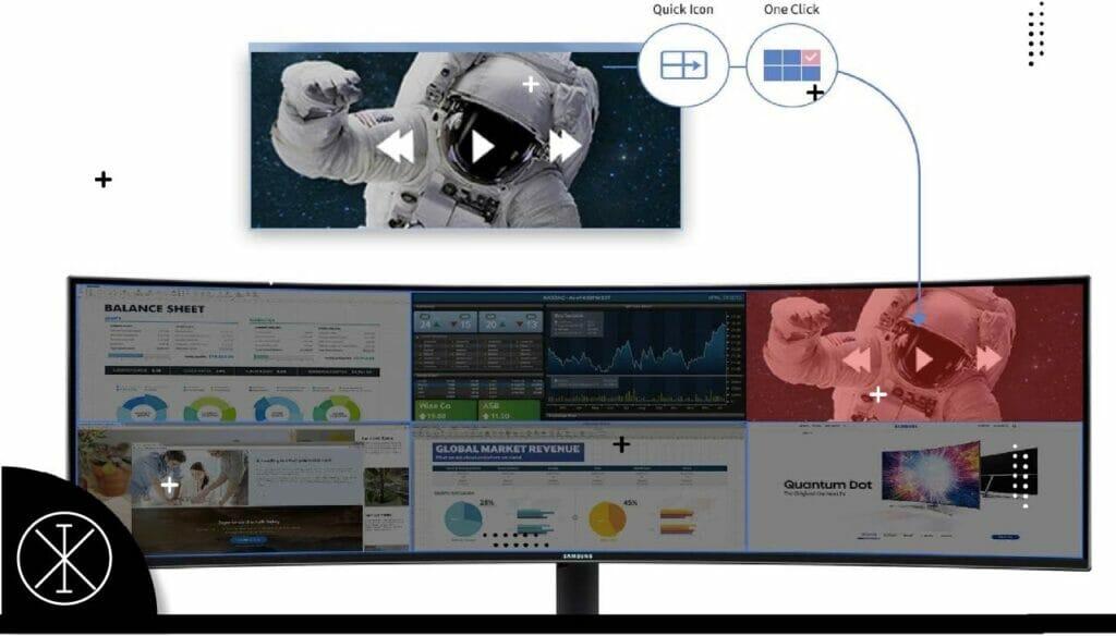 43eee2 1024x584 - ¿Cómo dividir la pantalla en monitores Samsung?