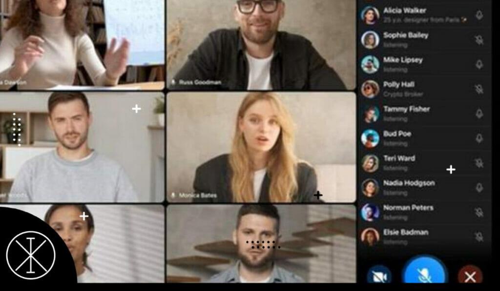 Ixograma 1 1 5 1024x597 - Telegram ya permite hacer videollamadas con 30 personas
