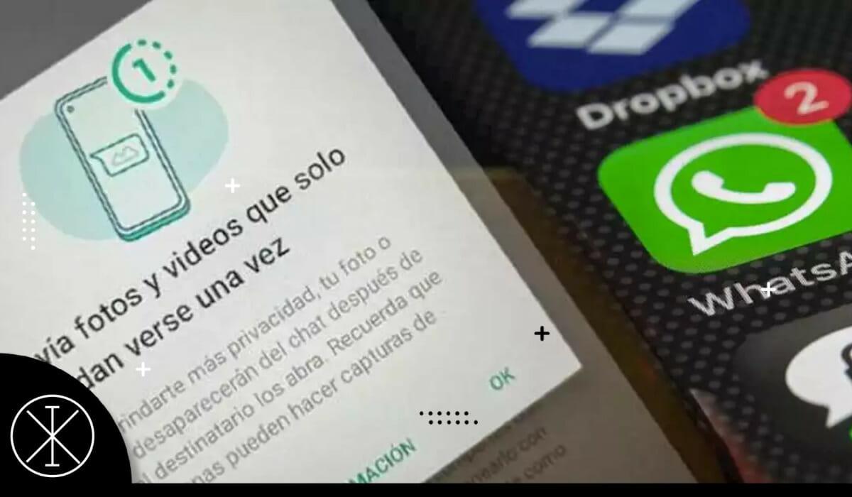 WhatsApp presenta función para eliminar archivos al verlos