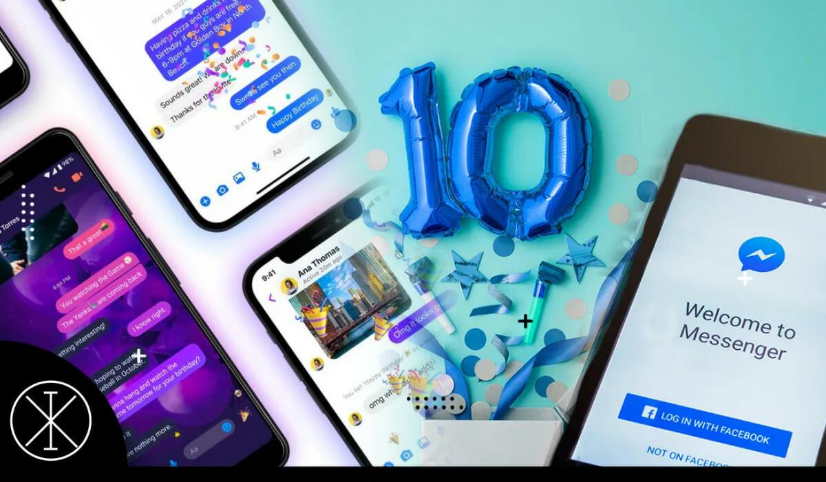 Facebook Messenger celebra 10 años