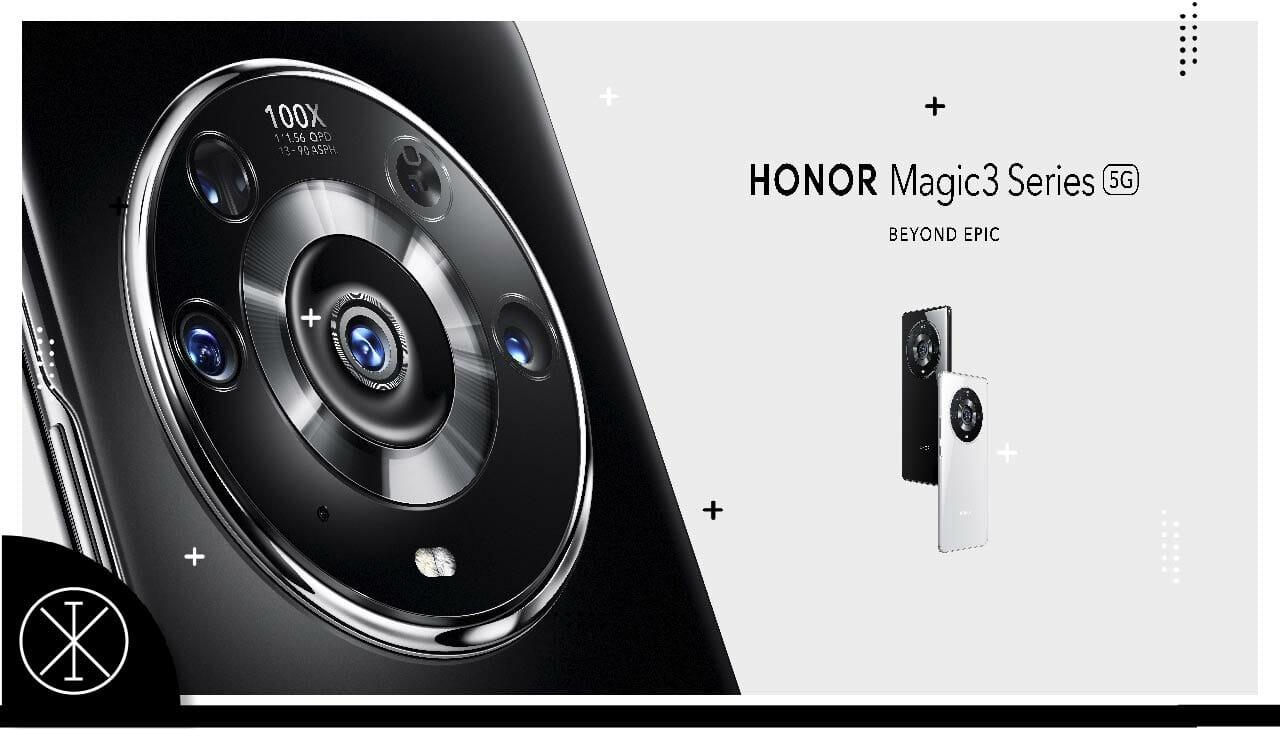 Serie HONOR Magic3: lanzamiento y características