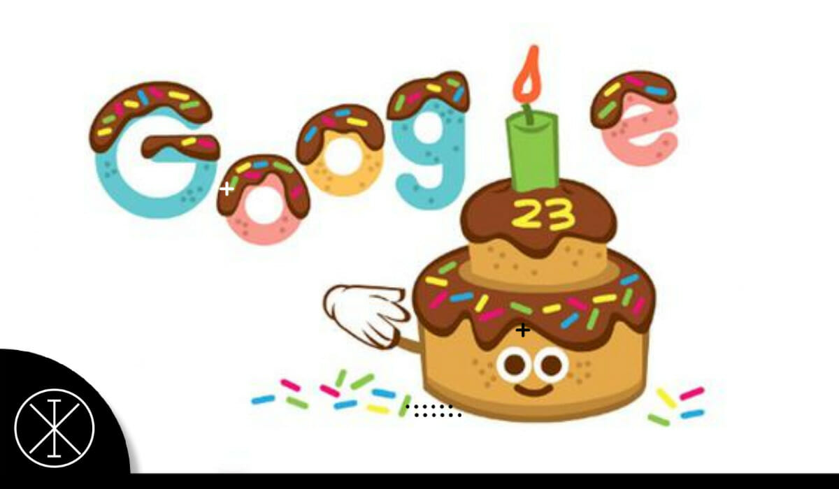 Google celebra 23 aniversario