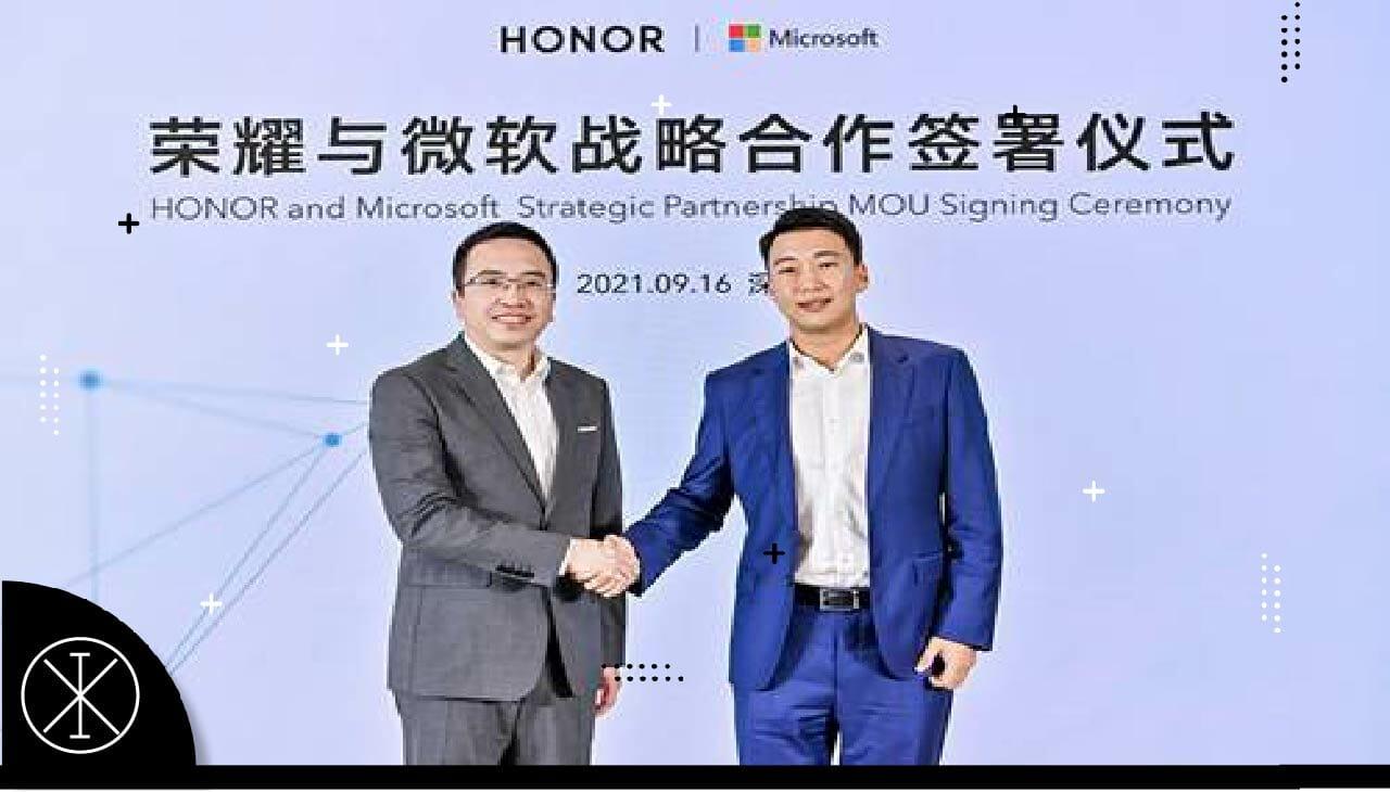Honor continuará alianza con Microsoft para desarrollo de soluciones tecnológicas