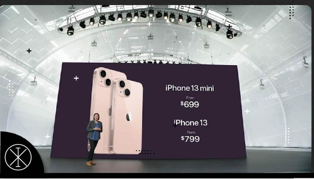 iphon13p 1024x586 - IPhone 13, IPhone 13 mini, 13 Pro, iPad, iPad mini y Apple Watch Series 7 son presentados al mercado