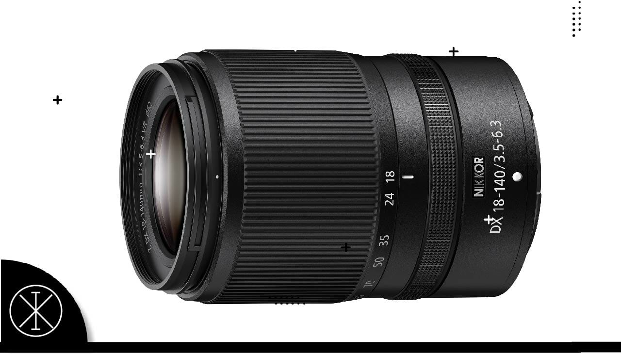 NIKKOR Z DX 18-140mm f/3.5-6.3 VR: lente de zoom de formato DX